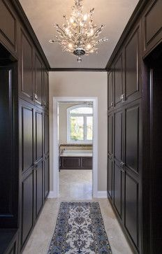 Love hallway/walk in closet attaching the master bedroom and bath