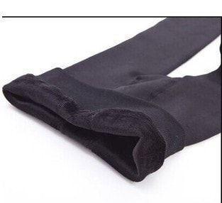 Knitted Elastic Warm Pants - Winter Leggings