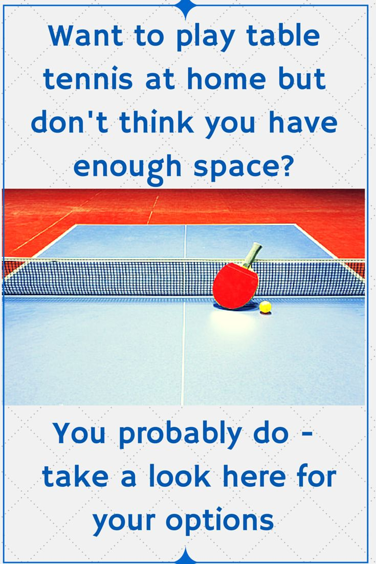 Http://www.inspiredforchristmas.com Use A Table Tennis Conversion Top On