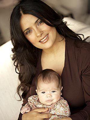 Salma Hayek and daughter, Valentina - beautiful, confident, businesswoman, Latina represent!