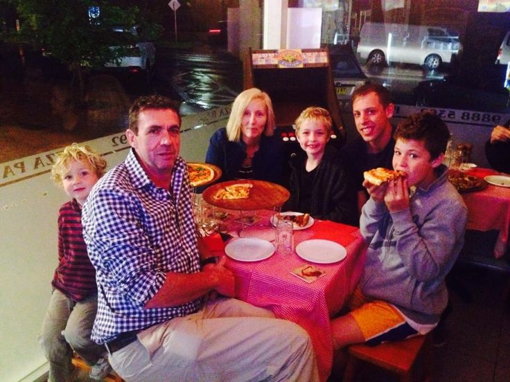 Always great to see happy customers in store enjoying fresh italian Pizza ! Thank you for coming in , see you soon :D #luigi's #luigispizzabar #freshpizza #family #luigisfamily