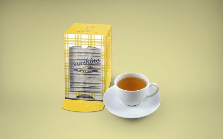 FREE Designed Tea Box Mock-up #design #free #download #freedownload #mockup #box #packaging