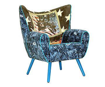 Mas de imagens sobre poltronas decorativas cadeiras for Poltrona liberty