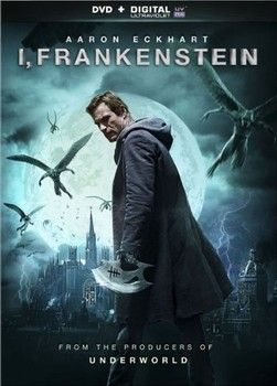 From the producers of the hit supernatural saga 'Underworld' come the explosive thriller 'I, Frankenstein', arriving on DVD, Blu-ray and Blu-ray 3D on Tuesday, May 13, 2014. Cast: Aaron Eckhart, Bill Nighy, Yvonne Strahovski, Miranda Otto, Jai Courtney and Kevin Grevioux.