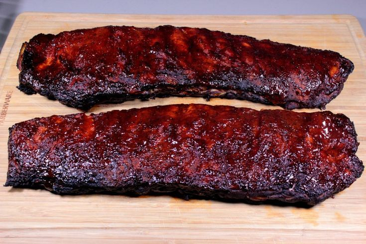 Competition Smoked Ribs Competition Smoked Bbq Grill Smoked Ribs In Smoker Electric