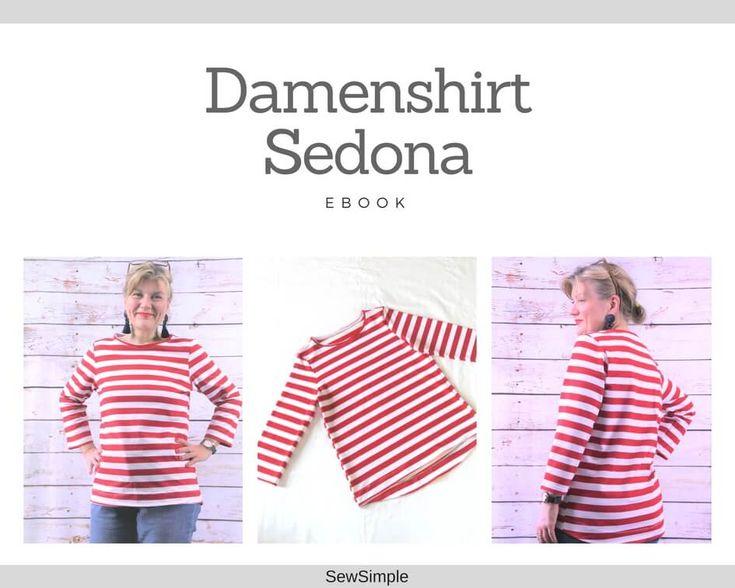 eBook: Damenshirt Sedona nähen (Größe 34 – 60)