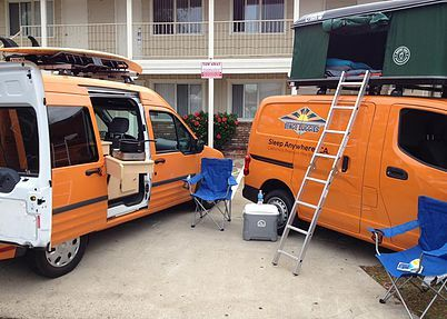 Bongo Buggies - San Diego and San Francisco RV Rentals