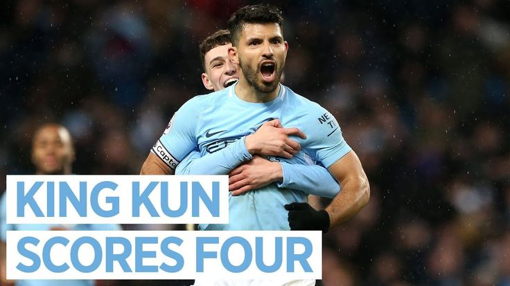 ANOTHER AGUERO HAT-TRICK | CITY 5-1 LEICESTER | Premier League 2018/18 https://youtu.be/T3cOIQMBViI
