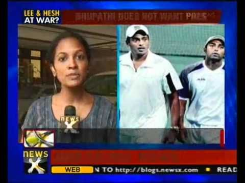 Mahesh Bhupathi refuses to partner Paes at London Olympics ... Watch @ http://alpha.newsx.com/videos/mahesh-bhupathi-refuses-partner-paes-london-olympics