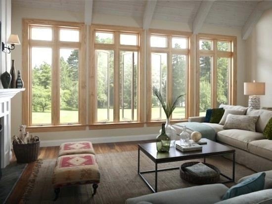 Wohnzimmer-Fenster-Ideen Innenarchitektur 2018 Pinterest - wohnzimmer modern einrichten tipps
