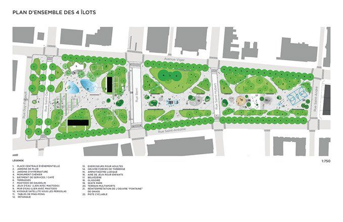 Viger Square is about to reclaim its past glory with the redesign by NIPPAYSAGE #canada #landscape #montreal #architecture #design #park