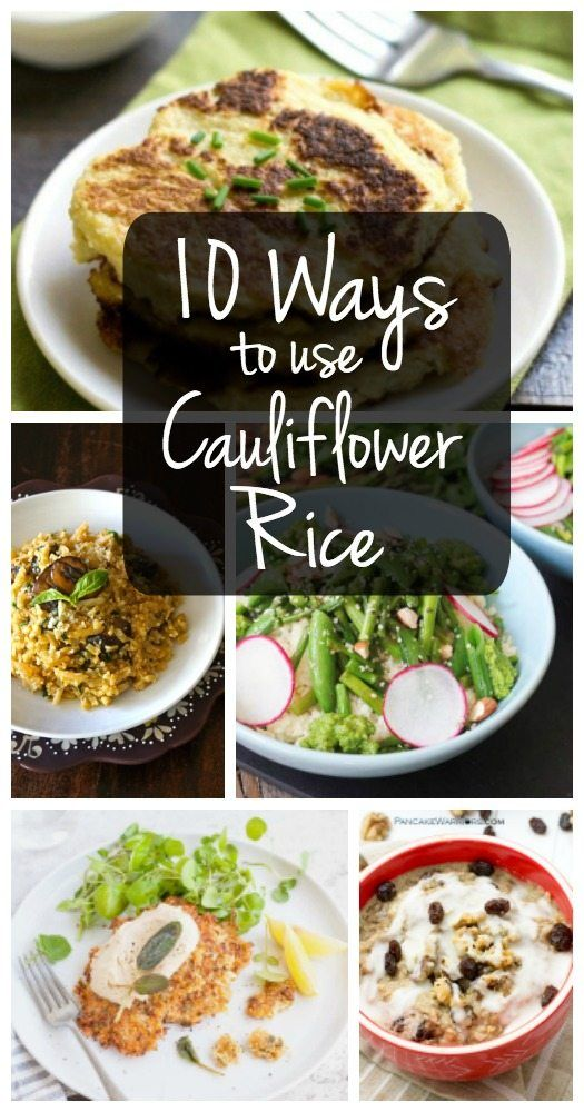 Bored of plain old cauliflower rice? Try one of these healthy and creative recipes for cauliflower crumbles!