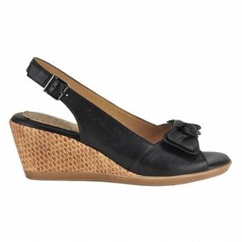 Softspots Lebeau Sandals (Black) - Women's Sandals - 6.0 W