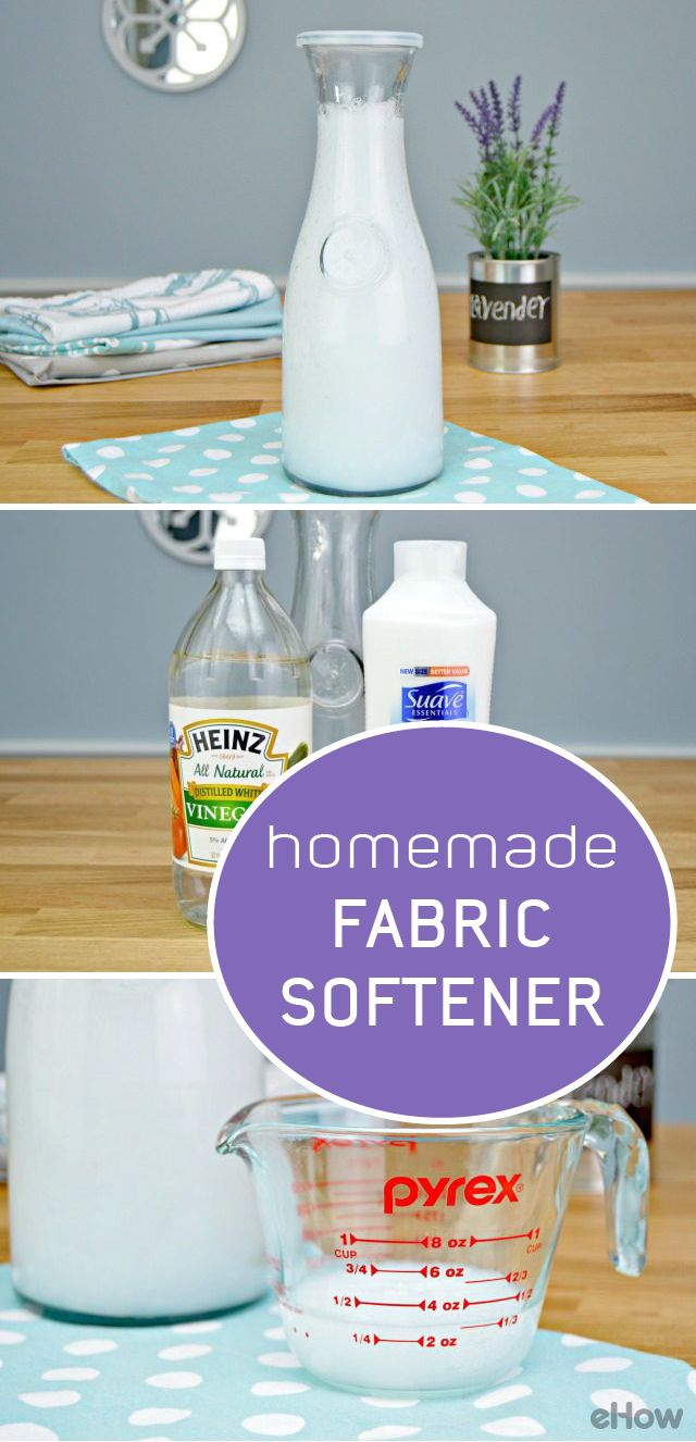 Easy inexpensive liquid fabric softener tutorial household tips diy cleaners and household - How to make your own fabric softener ...