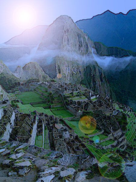 Machu Pichu  A well-traveled client of mine said this is still one place she needs to see.
