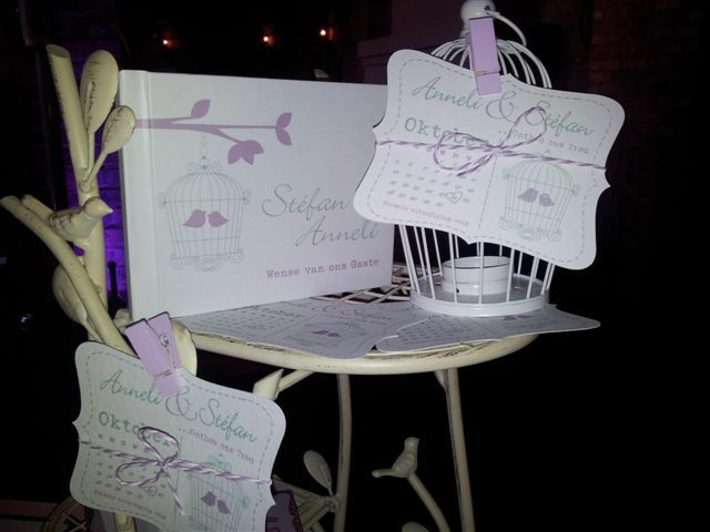 Wedding Stationery Display at Expo