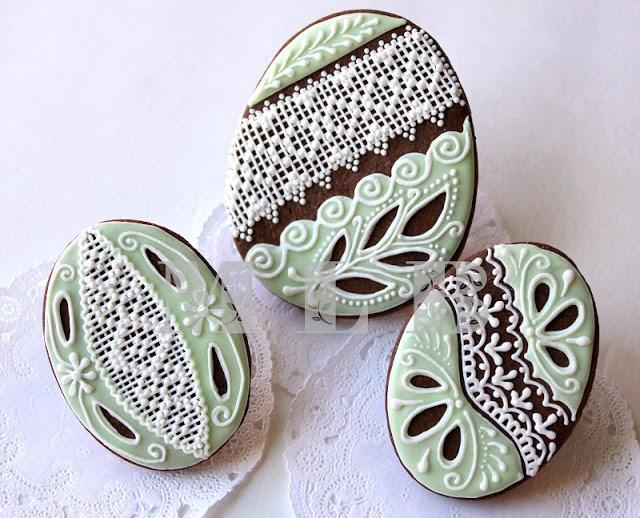 My little bakery :): Easter eggs cookies