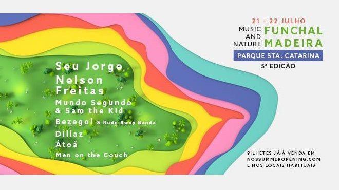 NOS Summer Opening: 21 2 22 de Julho no Funchal, Madeira | Via Visitportugal.com Em julho, num cenário natural único com o Oceano Atlântico e o Funchal como pano de fundo, o NOS Summer Opening é uma verdadeira festa de tributo ao sol e às boas energias.  #Portugal