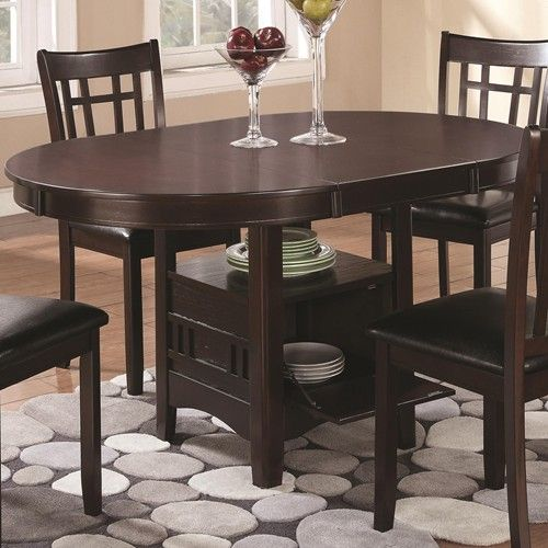 Coaster Lavon Dining Table With Storage