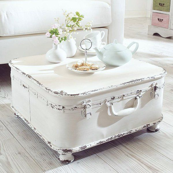 Vintage Storage and Coffee Table