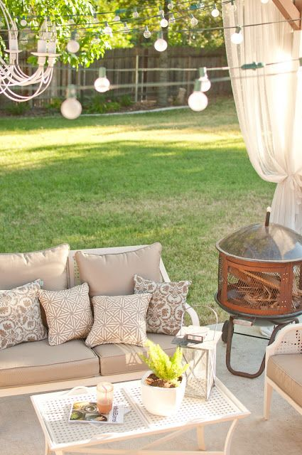 White Backyard Patio Furniture from Home Depot. 44 best Patio furniture images on Pinterest   Home depot  Patio