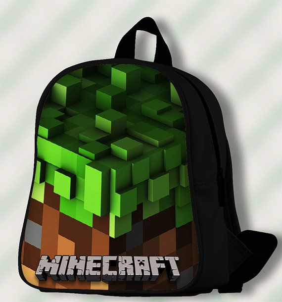 Minecraft Volume Alpha  Custom by SmileSchoolBags on Etsy