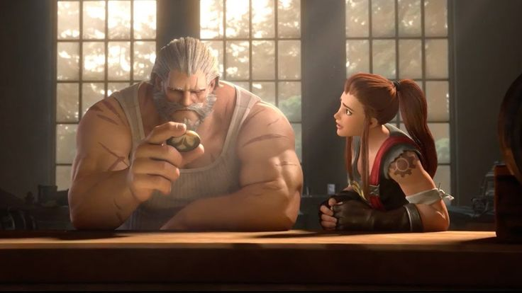 "Overwatch Reinhardt Animated Short - ""Honor and Glory"""