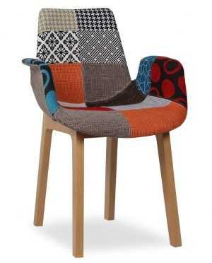 Stunning Cappello Chair Patchwork Designs That Have Arm And Back Rest Combining 4 Piece Legs Suitable For Your Home Furniture Decorations