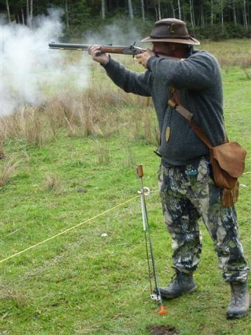 Black powder shooting! Blackball