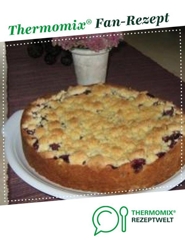 Weltbester Kirsch Streusel Kuchen Rezept Thermomix Kuchen