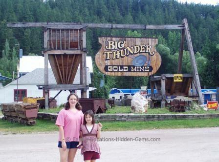 hidden gem vacation spots in the us - Big Thunder Gold Mine, Mount Rushmore, South Dakota.