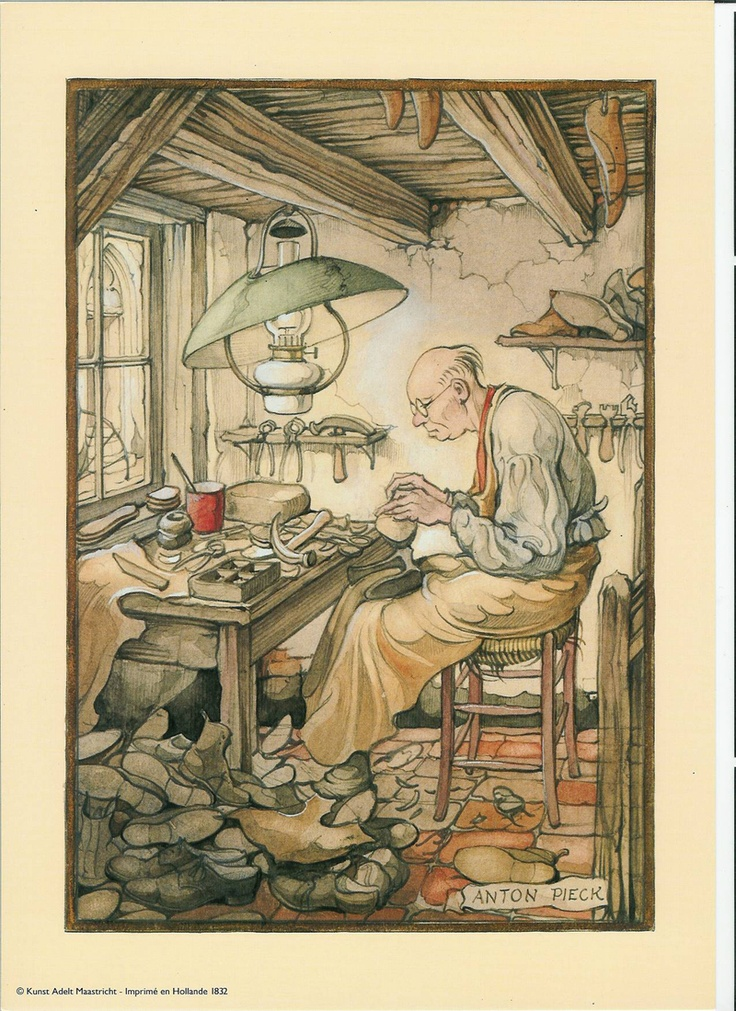 Anton Pieck - This artist is new to me. Now I have to find more!!