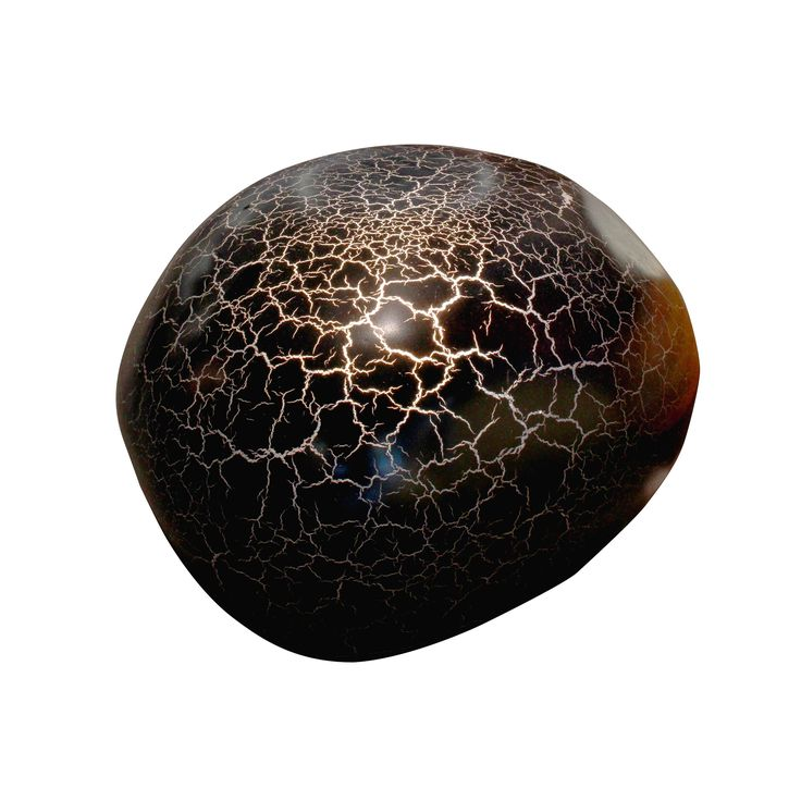Cracking Lamp - Black Fibreglass Large. Light up your indoors with these pretty lamps. Mix and match a few designs to liven up your spaces.