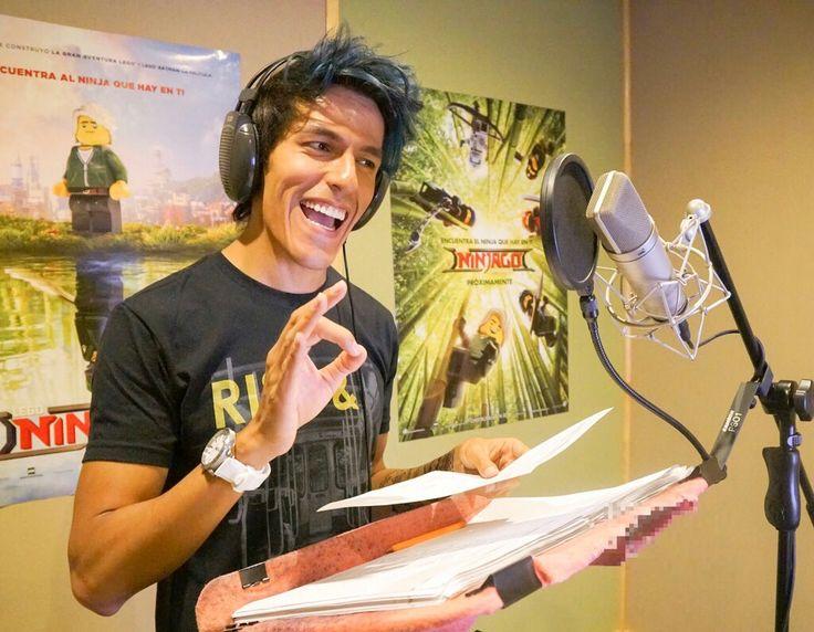 Felicidades rafa por hacer la voz del protagonista de la película  ninjago  sigue tus sueños
