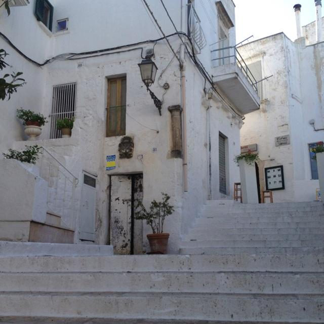 Piazzetta Vecchia. Ceglie Messapica, Puglia