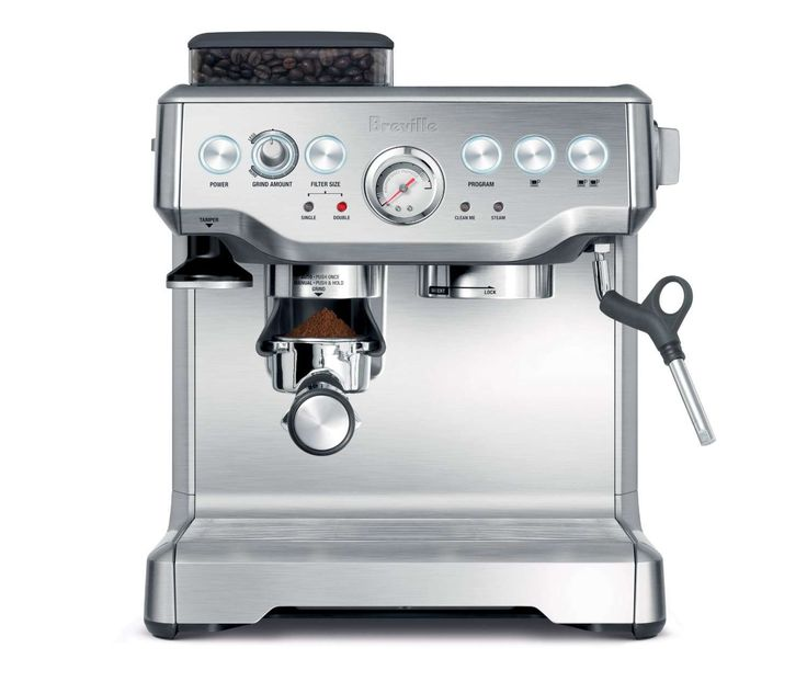 ease dispensing coffee and drinking coffee with the Breville BES860XL   CoffeeCangkir
