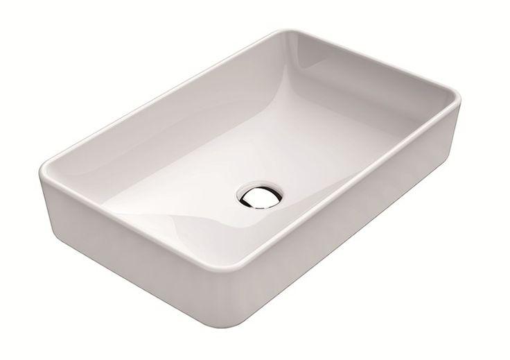 Rechteckiges Aufsatzwaschbecken PURA 60 | Aufsatzwaschbecken - GSI ceramica