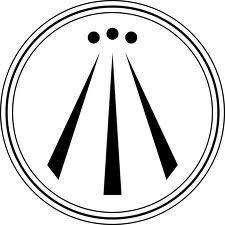 awen symbol - Gaelic symbol for poetic inspiration and spiritual illumination