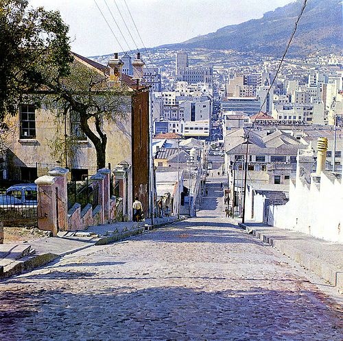 """Longmarket str in the Bo-Kaap 