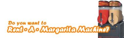 Rent a margarita machine