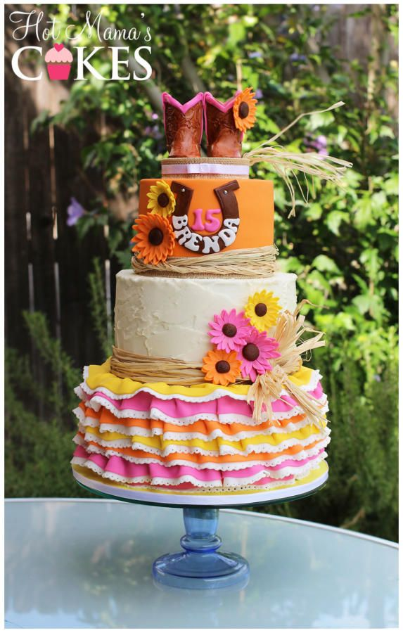 17 best images about cakes country western on