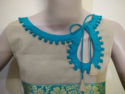 Latest Neck Design (Boat Neck) Cutting And Stitching - YouTube