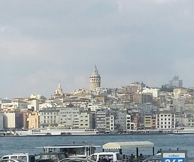 Galata Tower across the Golden Horn