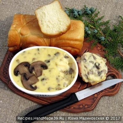 Домашний плавленый сыр с шампиньонами из творога - пошаговый рецепт с фото. Как сделать вкусный сыр своими руками.