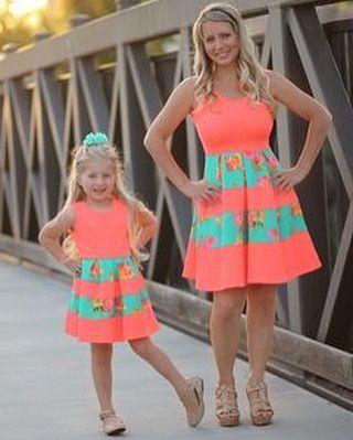 Vestidos madre e hijas