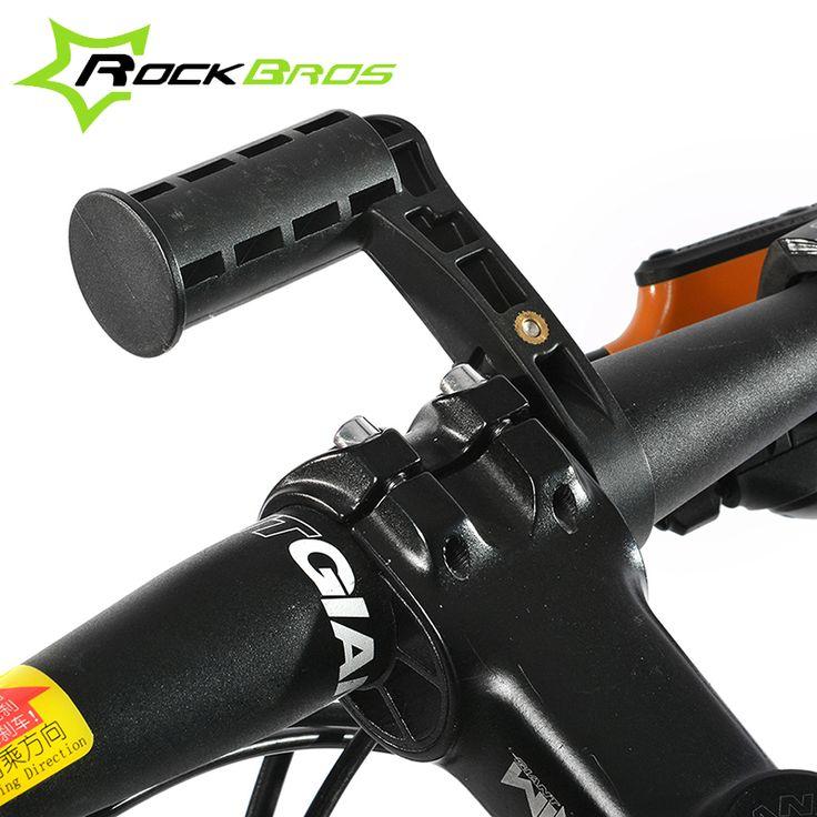 Rockbros Fietsstuur Extender Zetels Bikes Multifunctionele Beugel Extender Fit Bike Licht Lamp Fiets Snelheidsmeter Telefoon