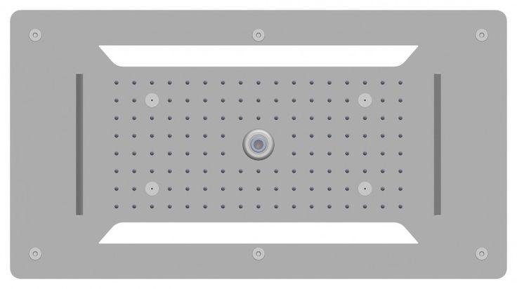 XXL-Regendusche Edelstahl-Deckenbrause DPG5030 superflach - 70 x 38 cm - Deckeneinbau günstig online kaufen