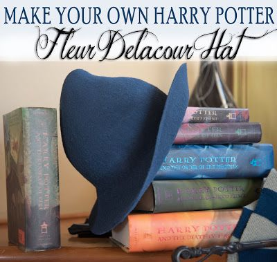 Author Robin King, Blog: DIY Harry Potter: Beauxbatons Fleur Delacour Hat