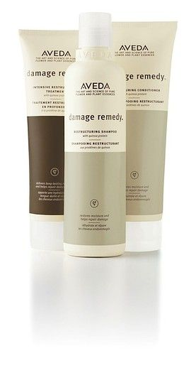 Aveda Damage Remedy Restructuring Shampoo, Conditionerand Intensive Restructuring Treatment