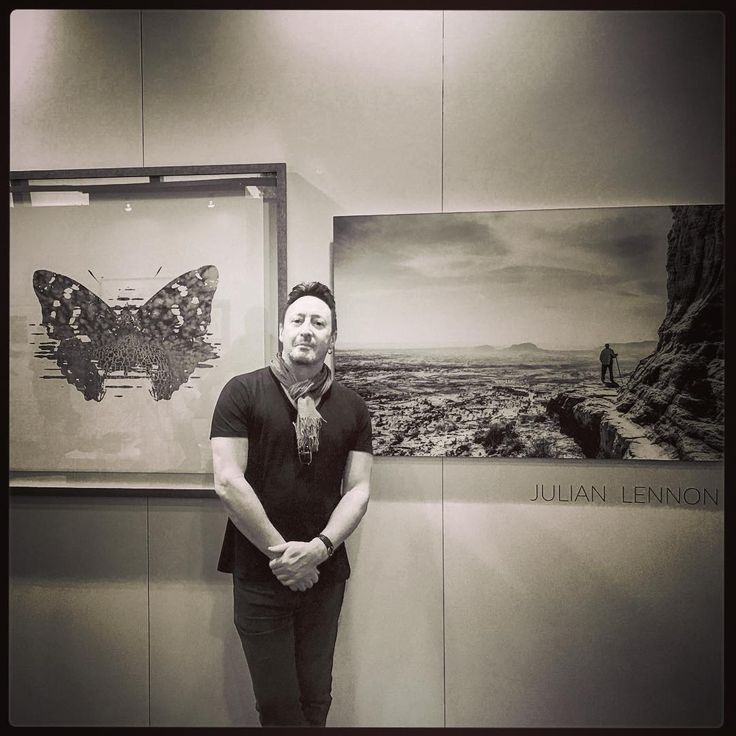 Julian Lennon on Instagram @julespicturepalace ❤…
